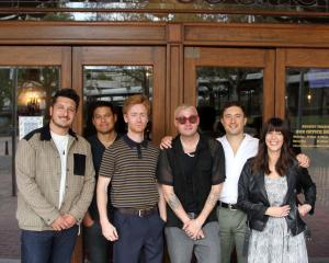 Returning to Dunedin for their documentary premiere at the Regent Theatre are Six60 band members ...