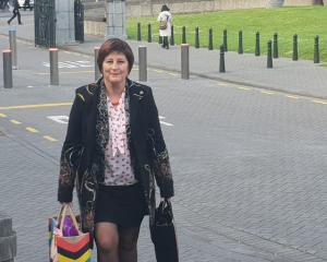 List MP Maureen Pugh arriving at Parliament Photo: RNZ