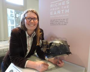 North Otago Museum curator Chloe Searle is looking forward to welcoming the public back to the...