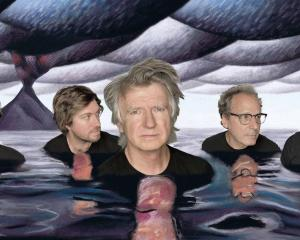Crowded House members Liam Finn, Elroy Finn, Neil Finn, Mitchell Froom and Nick Seymour. Photo /...