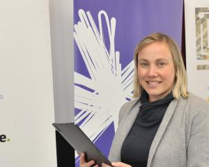 Spark's Renee Mataparae was in Dunedin on Monday talking to business leaders as part of an...