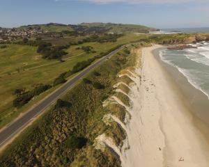 Notches in the St Kilda dunes somewhat counter-intuitively help the sand to build up. PHOTO:...