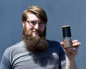 Otago Polytechnic student Jonathan Storm is developing a range of wood-smoked rock salt and...