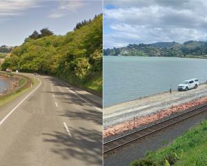 Reclamation work has significantly altered the appearance of the harbourside at Mussel Bay near...