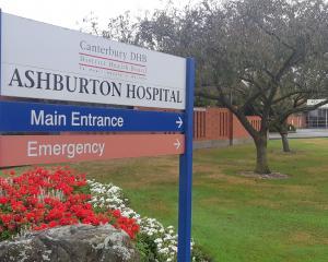 Ashburton Hospital. Photo: Ashburton Guardian