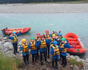 Rafting on the Rangitata