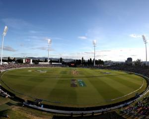 The Bay Oval has become a popular venue on the international cricket calendar. Photo: Getty Images