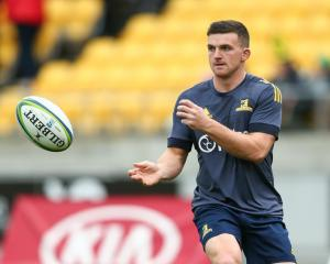 Bryan Gatland warms up for the Highlanders in Wellington this year. Photo: Getty Images