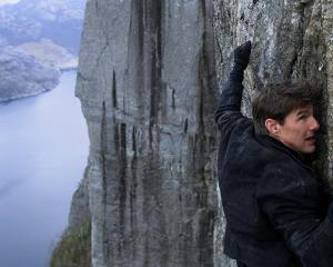 Another daring stunt from Tom Cruise in Mission: Impossible - Fallout which filmed in Queenstown....