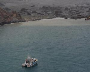 The Defence Force took part in the recovery mission. Photo: NZDF