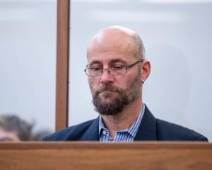 Nigel Colin Edgecombe in the dock at Wellington District Court in June 2019 for sentencing. Photo...