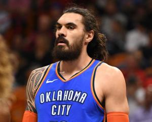 Steve Adams is leaving Oklahoma City Thunder after seven years. Photo: Getty Images