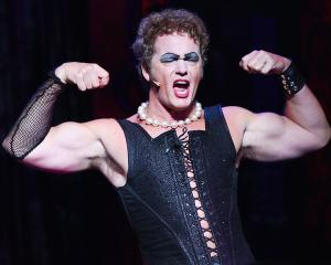 Craig McLachlan as Frank N Furter during a media call for The Rocky Horror Show in Sydney in...