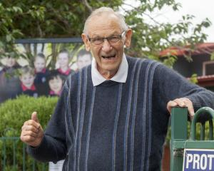After three decades, Paparoa Street School caretaker Fred Adams is hanging up his tools. Photo:...
