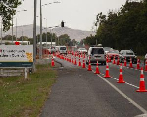The Christchurch Northern Corridor. Photo: Geoff Sloan