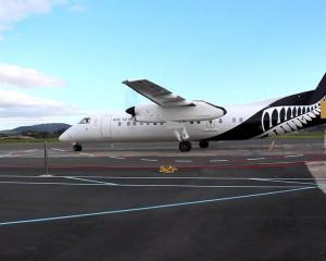 An Air New Zealand Dash Q300. Photo: YouTube