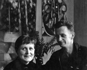 Anne McCahon (nee Hamblett) and her husband Colin. PHOTO: ODT FILES