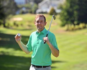 New golf professional Michael Ormandy at the Otago Golf Club yesterday. PHOTO: LINDA ROBINSON