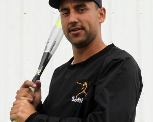 Otago softballer Nelson Yorston prepares for this weekend's Jefferies Cup, at Hancock Park this...