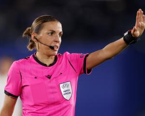 Referee Stephanie Frappart. Photo: Reuters