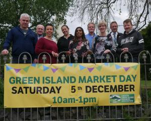 Greater Green Island Business Association members (back from left) Tony Hanning, Narelle Stewart,...