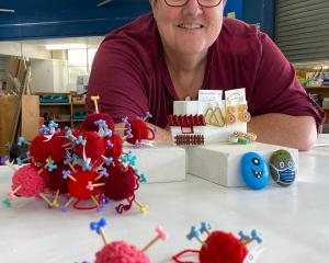 Artsenta artist Christine Philp showcases a selection of the small-scale items she has made for...