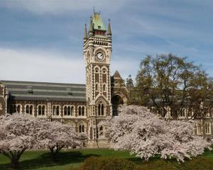 The University of Otago clocktower. Photo: ODT files