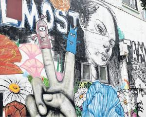 New Plymouth has a wealth of engaging street art. PHOTOS: LINDY DAVIS