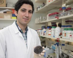 Dr Ali Mohammadi undertakes research at the University of Otago Christchurch campus. PHOTO:...