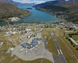 Queenstown Airport as it is today. PHOTO: SUPPLIED