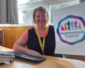 New Neighbourhood Support co-ordinator Sue Abel. Photo: Supplied