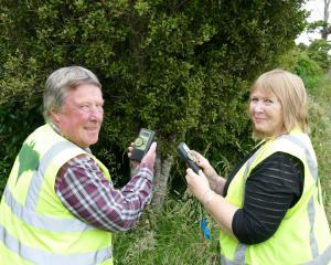 Owaka bat lovers Annette and Murray Patterson say the first of two Catlins bat detection walks at...