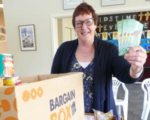 Lawrence-Tuapeka Combined Church Foodbank joint co-ordinator Stephanie Swann says the...