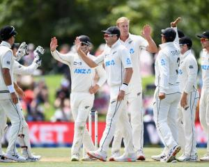 The Black Caps have two tests lined up in England in June. Photo: Getty Images