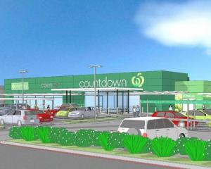 An artist's impression of the proposed supermarket in Alexandra. Image: supplied