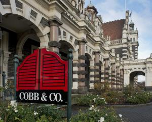 Cobb & Co managing director Ben Gower (inset) is confident the Dunedin Railway Station...