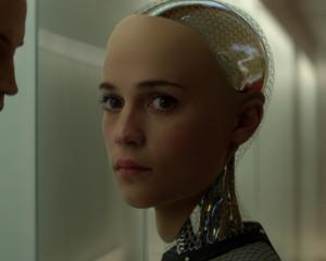 In the film Ex Machina, Alicia Vikander plays the part of a robot that establishes a relationship...