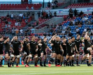 The All Blacks perform the haka at the Tri-Nations in Australia last year. Photo: Getty Images