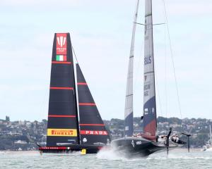 American Magic believes winning the start is the key to beating Luna Rossa. Photo: Getty Images