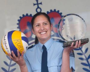 Detective Constable Melissa-Mae Ruru won the New Zealand Police Association Police Sportsperson...