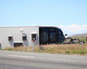 A man was killed and another person was injured in a crash near Omarama yesterday. PHOTO: KAYLA...