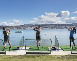 Otago Harbour Golf Challenge aims to reopen by the end of January. PHOTO: JARED HUNTER MASON
