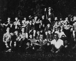 The Dunedin YMCA boys' camp at Outram. — Otago Witness, 1.2.1921.