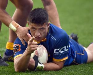 The Highlanders have called Otago winger Freedom Vahaakolo into their squad. Photo: Peter McIntosh
