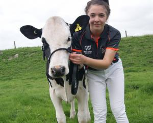 Kimberley Simmons, (16), of Dacre, won the junior handler competition at the 2021 National All...
