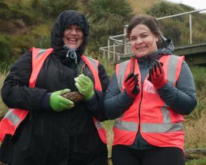 Teachers Cassandra Kitt (left), of Kaikoura High School, and Jess Dewhurst, of Aotea College in...
