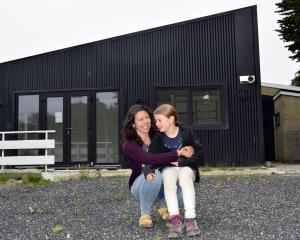 Sara Ferreira and her daughter Amelia Ferreira-Doherty (8) are set to move into a two-bedroom...