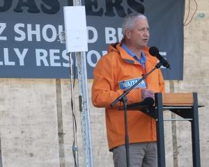Westland Mayor Bruce Smith. Photo: RNZ