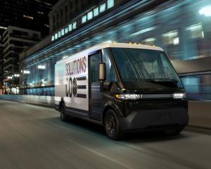 Electrifying light commercial vehicles  — like this new General Motors EV600 van — is part of He...
