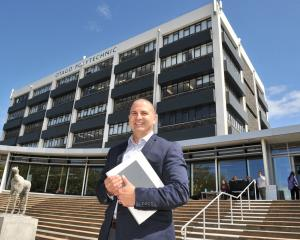 Adam La Hood, of Dunedin, is Otago Polytechnic's new board chairman.PHOTO: LINDA ROBERTSON